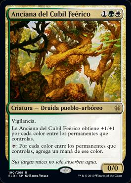 Faeburrow Elder / Español
