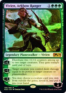 Vivien, Arkbow Ranger / Foil