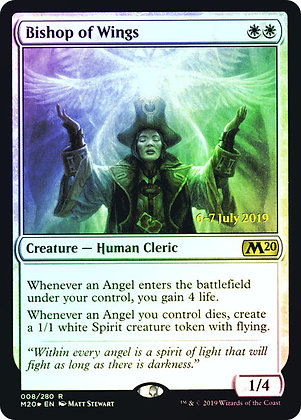 Bishop of Wings / Prerelease Foil / Español