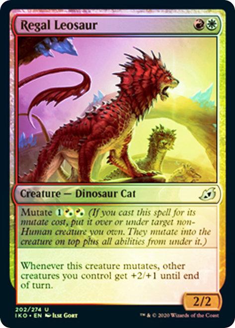 Regal Leosaur / Foil
