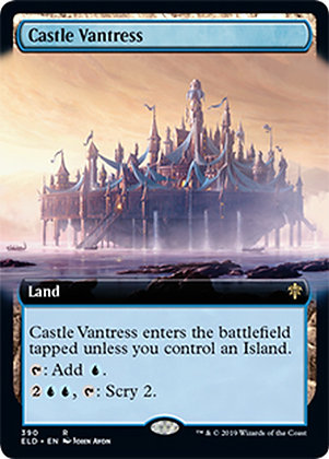Castle Vantress / Extended Art
