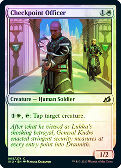 Checkpoint Officer / Foil