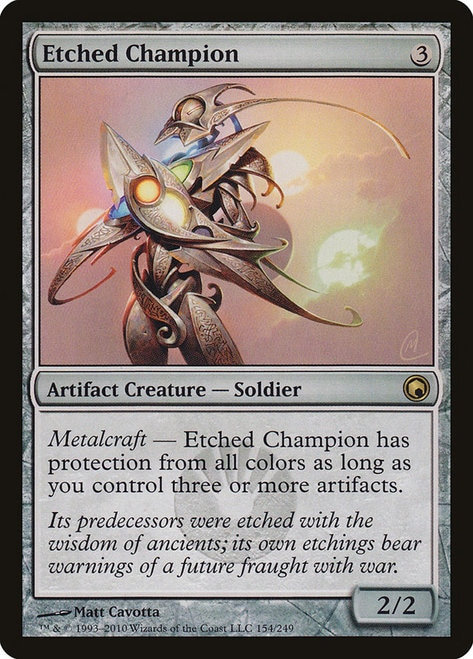 Etched Champion (SOM)