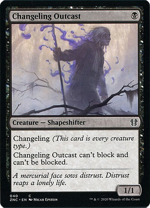 Changeling Outcast (ZNC)