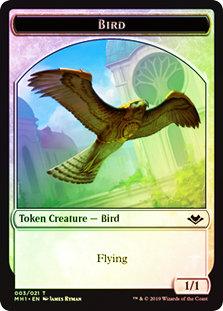 Bird Token MH1 / Foil