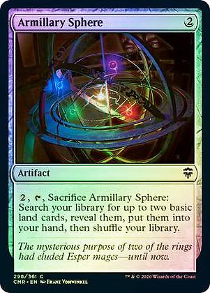 Armillary Sphere (CMR) / Foil