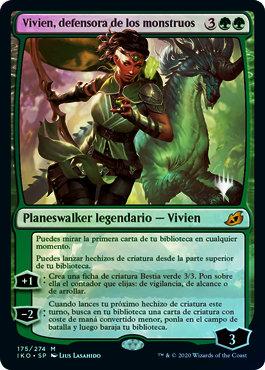 Vivien, Monsters' Advocate / Español Foil Promo Pack