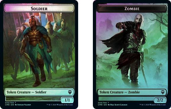 Token (Soldier // Zombie) / Foil