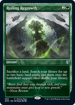 Roiling Regrowth (ZNR) / Promo Pack