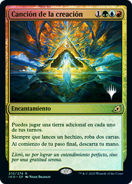 Song of Creation / Foil Promo Pack Español