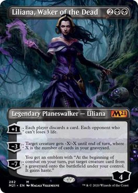 Liliana, Waker of the Dead (Borderless) (M21)