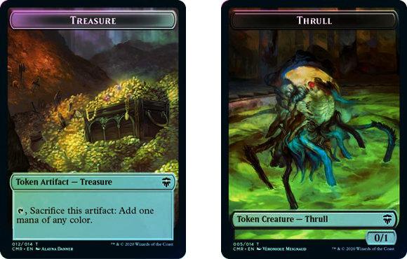 Token (Treasure // Thrull) / Foil