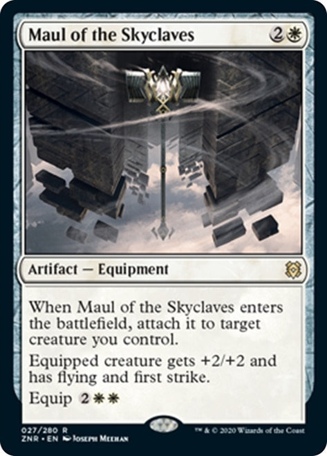 Maul of the Skyclaves (ZNR) / Foil