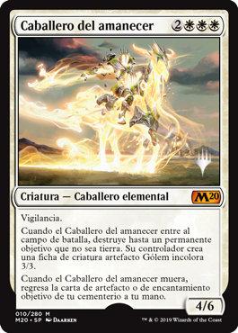 Cavalier of Dawn / Español Promo Pack