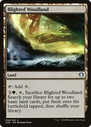 Blighted Woodland (C20)