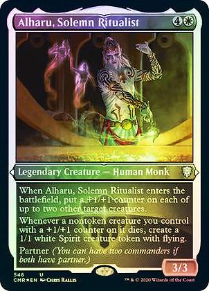 Alharu, Solemn Ritualist (Foil Etched)