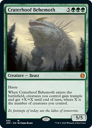 Craterhoof Behemoth (JMP)