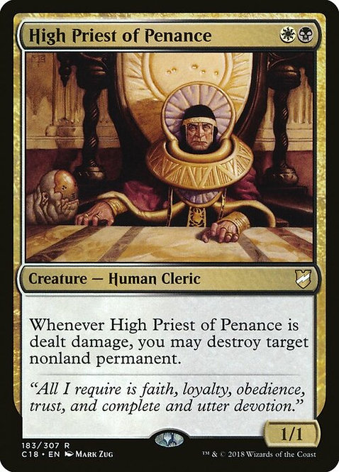 High Priest of Penance (C18)