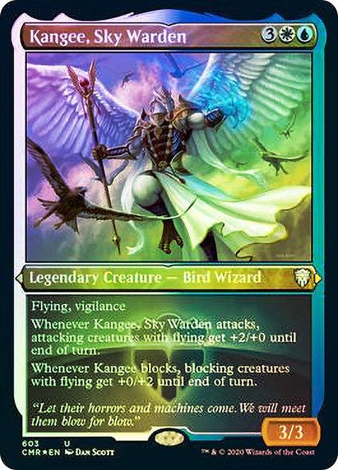 Kangee, Sky Warden (Foil Etched)