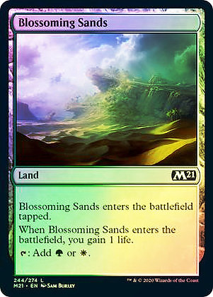 Blossoming Sands (M21) / Foil