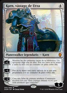 Karn, Scion of Urza / Español