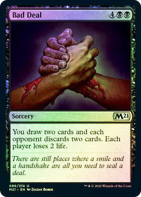 Bad Deal (M21) / Foil