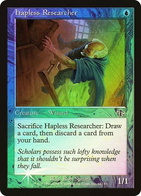 Hapless Researcher (JUD) / Foil