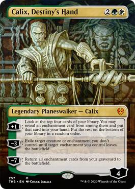 Calix, Destiny's Hand / Alt Art