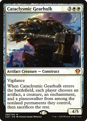 Cataclysmic Gearhulk (C20)