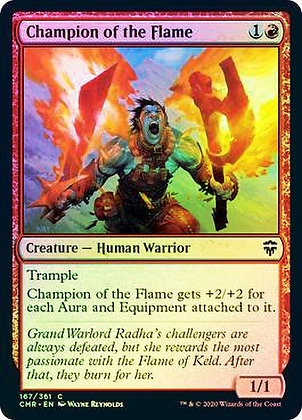 Champion of the Flame (CMR) / Foil