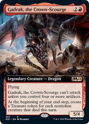 Gadrak, the Crown-Scourge (M21) / Extended Art