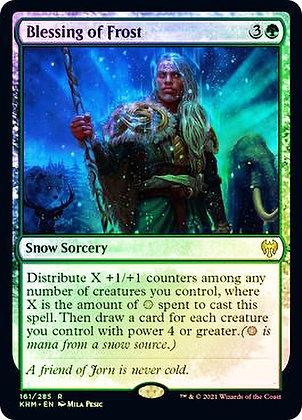 Blessing of Frost (KHM) / Foil