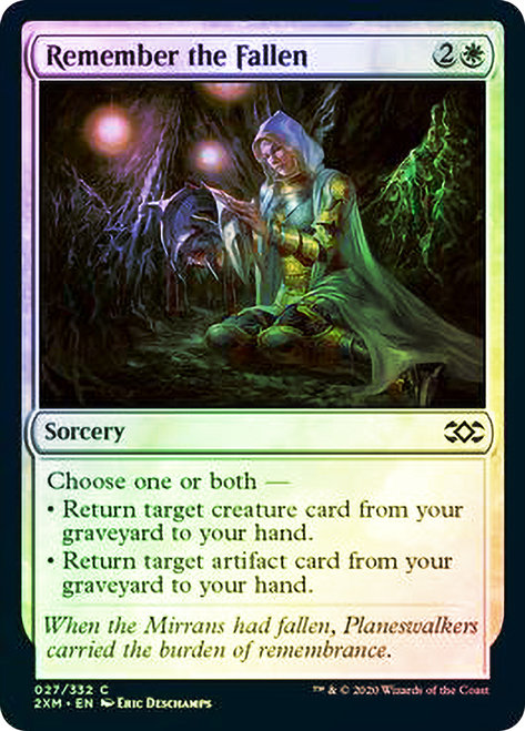 Remember the Fallen (2XM) / Foil