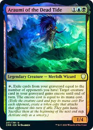 Araumi of the Dead Tide (CMR) / Foil