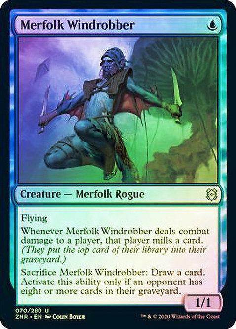 Merfolk Windrobber (ZNR) / Foil
