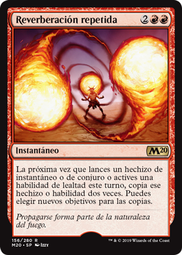 Repeated Reverberation / Español