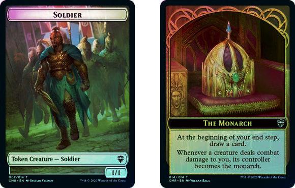Token (Soldier // The Monarch) / Foil