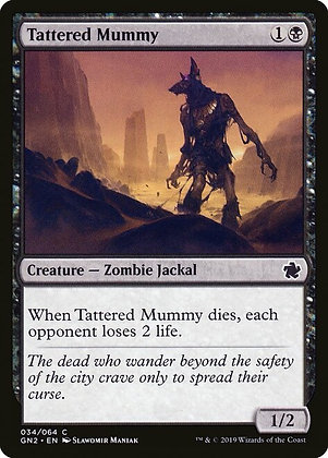 Tattered Mummy (GN2)