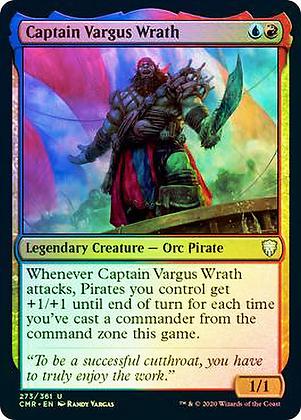 Captain Vargus Wrath (CMR) / Foil