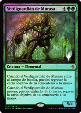 Greenwarden of Murasa / Español Promo Foil