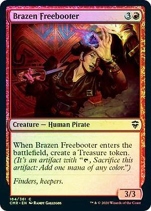 Brazen Freebooter (CMR) / Foil