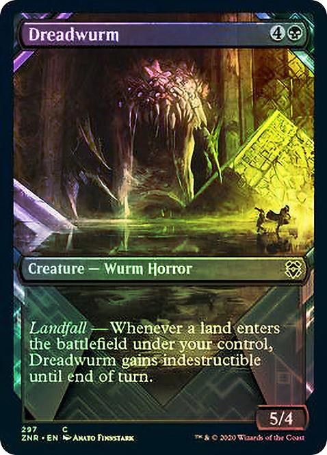 Dreadwurm (ZNR) / Showcase Foil