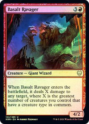 Basalt Ravager (KHM) / Foil