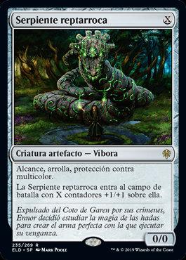 Stonecoil Serpent / Español