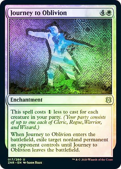 Journey to Oblivion (ZNR) / Foil