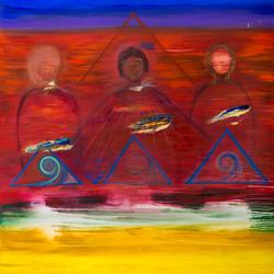 Three Heavenly Beings