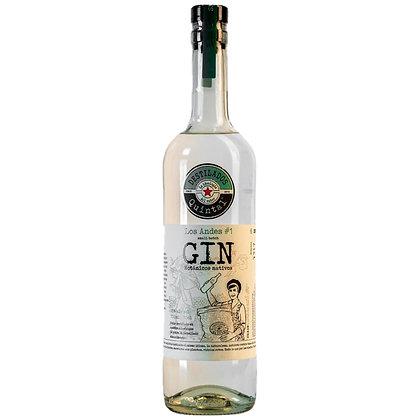 Gin Los Andes #1 - Destilados Quintal