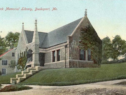 Buck Memorial Library Restoration, Bucksport, Maine