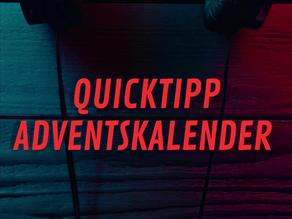 Der DJ Brocast 24 Quicktipp Kalender