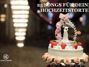 Die 25 besten Songs zur Hochzeitstorte